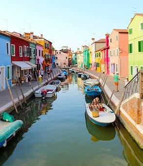 Canal, Venetian, Gondola, Boat, Tourism, Tourist