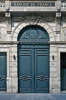 Paris, France, Architecture, City, Door, Vintage
