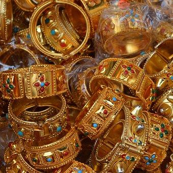 Gold, Ornament, Wealth, Desktop Background, Bracelet