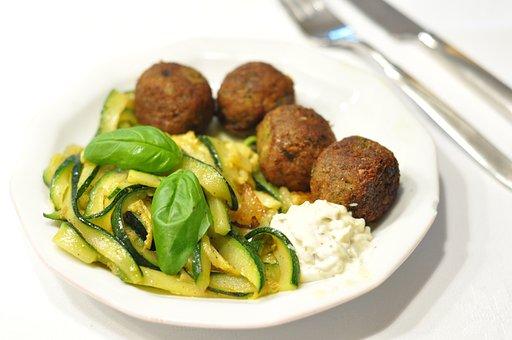 Food, Healthy, Meal, Vegetables, Plate, Dinner, Diet
