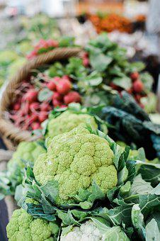 Food, Vegetable, Healthy, Grow, Cauliflower, Raw