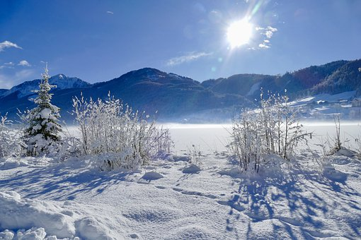 Snow, Winter, Cold, Frost, Mountain, Landscape