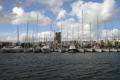 Sea, Yacht, Harbour, Sailboat, Marina, Port, Seashore