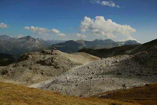 Nature, Mountain, Landscape, Panorama, Sky