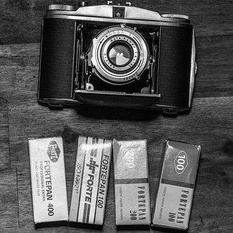 Retro, Antique, Shutter, Old, Lens, Agfa, 6x6, Aperture