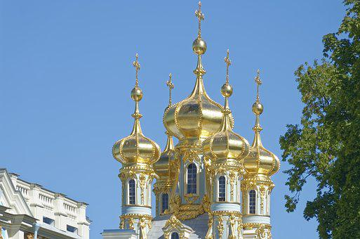 Sankt Petersburg, Catherine's Palace, Architecture