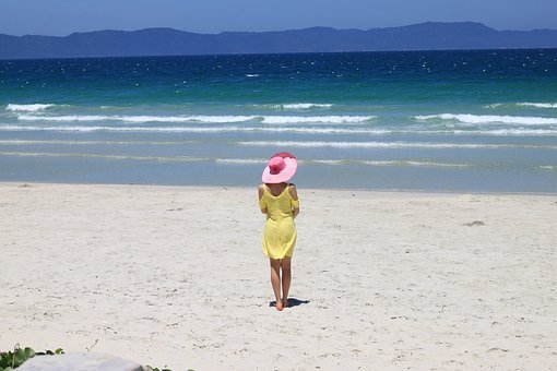 Beach, Sand, Sea, Water, Ocean, Travel, Free Time