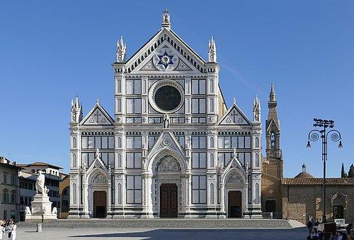 Santa Croce, Basilica, Florence, Italy, Cathedral