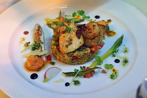 Food, Disk, Meal, Vegetables, Dinner, Gourmet