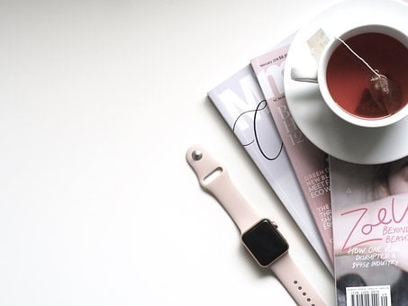 Tea, Cup, Business, Drink, Technology, Apple Watch