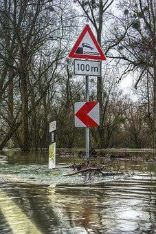 High Water, Flow, River, Flooding, Flooded, Risk