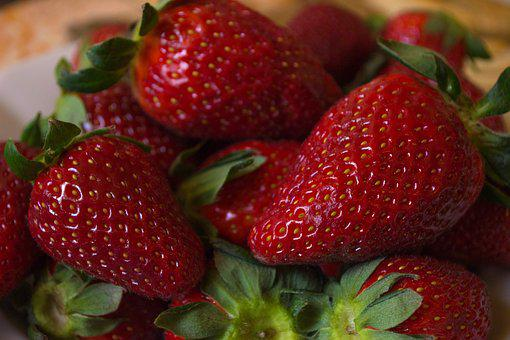 Strawberry, Fruit, Berry, Food, Healthy, Dessert, Juicy