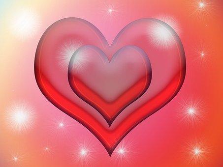 Valentine, Hearts, Love, Shape, Romantic, Illustration