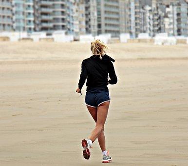 Jogger, Jog, Lifestyle, Sport, Leisure, Train, Summer