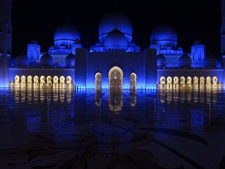 Light, Illuminated, Reflection, Architecture, Evening