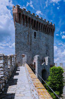 Architecture, Travel, Palace, Old, Sky, Tower, Castle