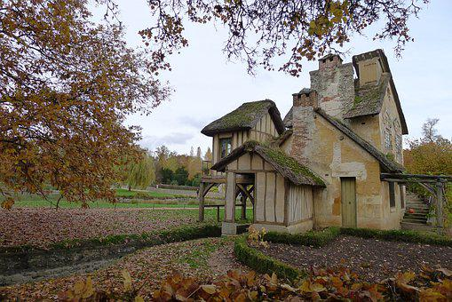 Tree, Architecture, House, Outdoors, Wood, Versailles