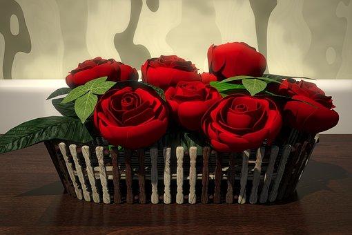 Rose, Flower, Decoration, Romance, Romantic, Gift, Love