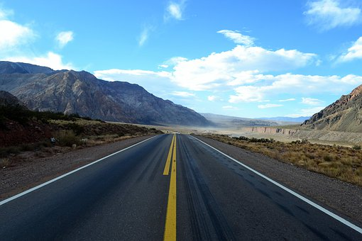 Road, Travel, Mountain, Asphalt, Nature, Landscape, Sky