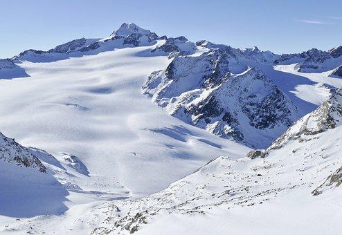 Snow, Mountain, Winter, Mountain Summit, Cold, Sölden