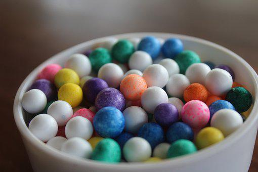Boll, Candy, Egg, Sugar, Food, Color