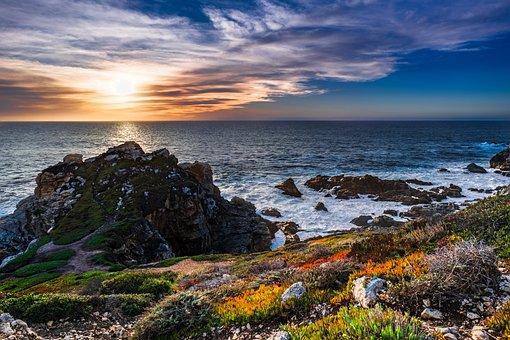 Sea, Seashore, Water, Nature, Sky, Blue, Summer