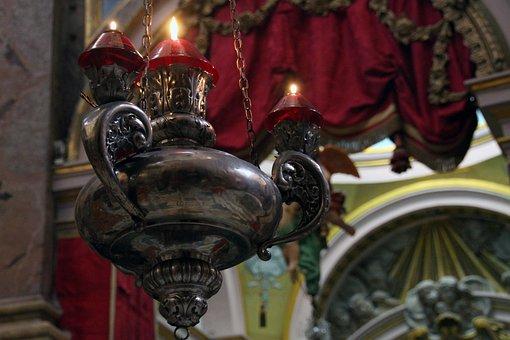 Lamp, Religion, Decoration, Traditional, Art, Culture