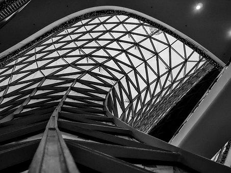 Architecture, Transport System, City, Futuristic