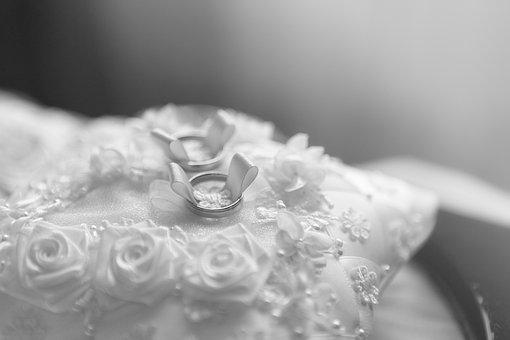 Wedding, Background, Celebration, Rings, Bride