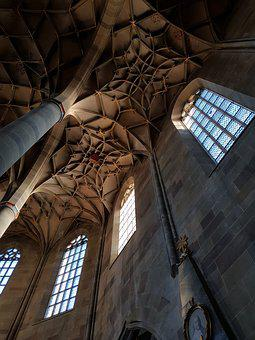 Church, Architecture, Cathedral, Religion, Glass