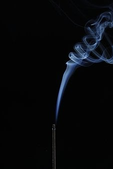 Smoke, Incense, Steam, Burn, Smell, Flare-up, Slightly