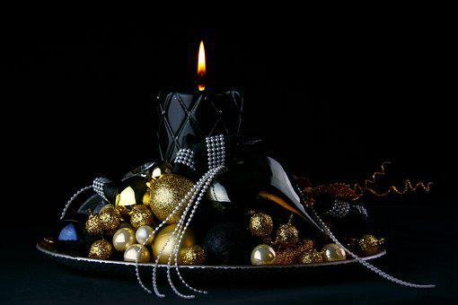 The Darkness, Christmas, Holidays, Ornament, Candle