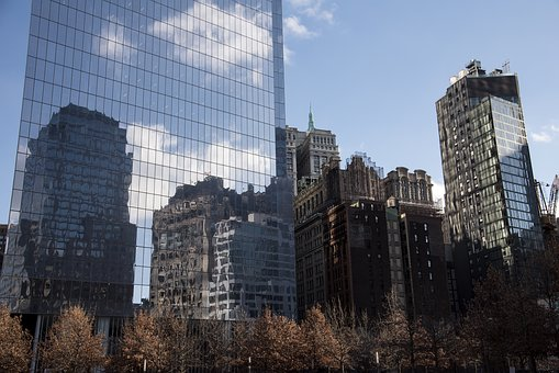 Skyscraper, Architecture, City, Horizon, Cityscape
