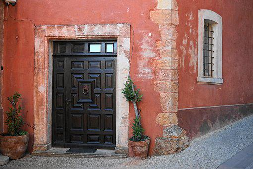 Door, Input, Home, Architecture, Old House, Facade, Old