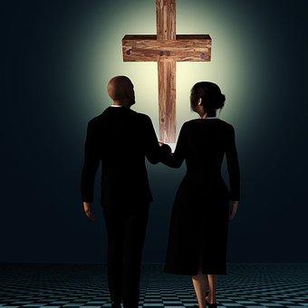 Human, Religion, Man, Cross, Deity, Woman, Faith, God