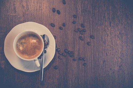 Wood, Coffee, Food, Grain, Caffeine, No Person