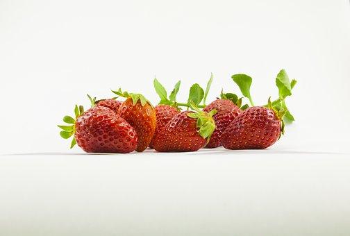 Healthy, Food, Strawberry, Fruit, Appetizer, Fresh