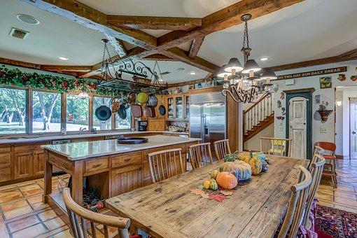Table, Inside, Indoors, Furniture, Luxury, Room, Chair