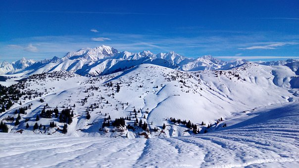 Snow, Winter, Mountain, Cold, Panorama, Mont Blanc