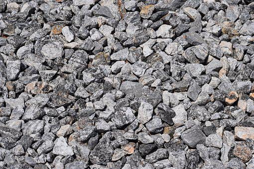 Stone, Rock, Gravel, Rough, Pattern, Granite