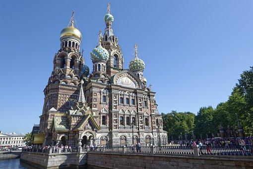 Sankt Petersburg, Church Of The Resurrection