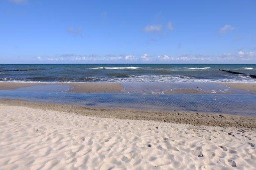 Sand, Waters, Beach, Sea, Coast, Travel, Nature, Summer