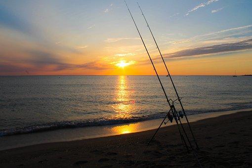 Sunset, Body Of Water, Sun, Sea, Twilight