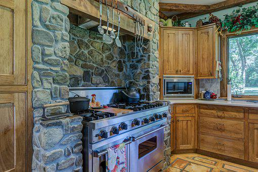 House, Furniture, Room, Window, Stove, Oven