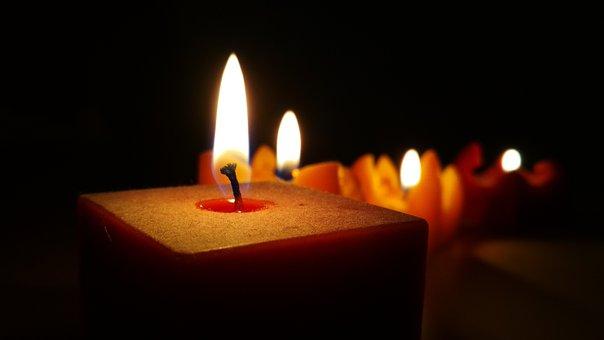 Candle, Flame, Candlelight, Wax, Burns, Christmas Light