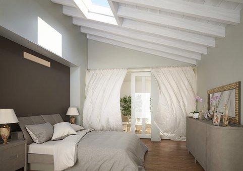 Furniture, Inside, Window, Bedroom, Apartment