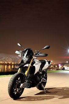 Aprillia, Venice, Motorcycle, Motorcycles, Night View