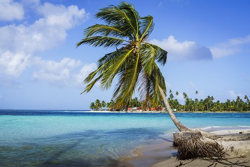 Sand, Beach, Tropical, Waters, Island, Coast, Travel