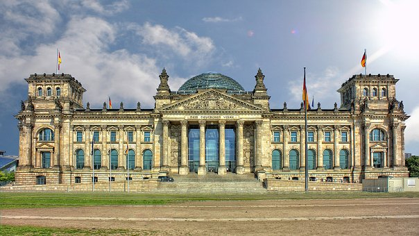 Reichstag, Berlin, Without People, Architecture, Travel