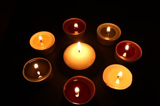 Candle, Evening, Mood, The Layout Of, Lit, Candlelight